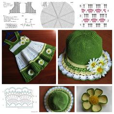 Crochet Girls Hat and Dress Set � Tutorial and Guide