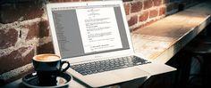 Screenwriting with a Macbook