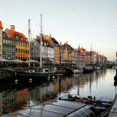 #Nyhavn #Copenhagen #Denmark