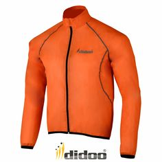 Chubasquero Impermeable Chaqueta Ciclismo Hombre Alta Visibilidad Lluvia - Poliester, XXL, Naranja Sport Wear, One Piece, Athletic, Zip, Fitness, T Shirt, How To Wear, Jackets, Fashion