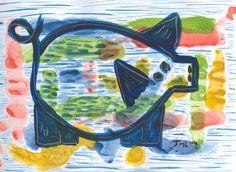 nr.3 uit de serie 41 - van de vrolijke varkens - Kleintje