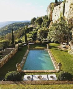 Articles published in the journal of the Mediterranean Garden Society: ~ T he. - Lazarus Douvos - - Articles published in the journal of the Mediterranean Garden Society: ~ T he. Dream Pools, Swimming Pool Designs, South Of France, Cool Pools, Outdoor Living, Beautiful Places, Beautiful Pools, Beautiful Gardens, Villa