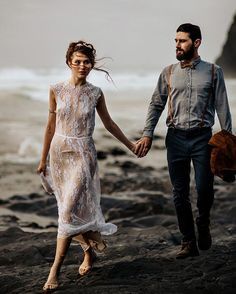 One of our favorites from these two.. and these delicate and windblowing dresses are the best right?