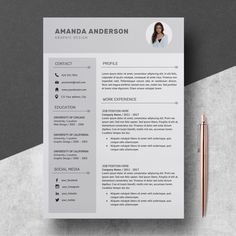 Unique Resumes Professional Resume Template Nurse  Cv Template Word  Resume Nurse .