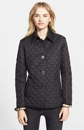 Burberry Brit 'Copford' Quilted Jacket $724 CAD