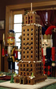 §§§ . Gingerbread Skyscraper