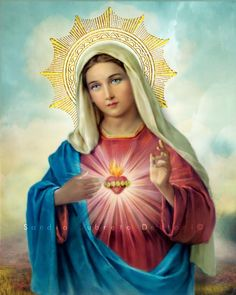Funny pictures, backgrounds for your dekstop, diagrams and illustrated instructions - answers to your questions in the form of images. Blessed Mother Mary, Divine Mother, Blessed Virgin Mary, Religious Gifts, Religious Art, Hail Holy Queen, Images Of Mary, Queen Of Heaven, Religious Pictures