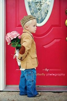 Never to Early to Be the Gentleman ..:)M  ....this is So freaking Adorable!!!  <3