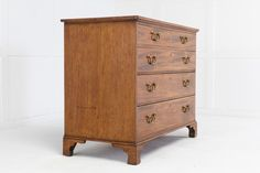 18th Century Mahogany Chest of Drawers - Decorative Collective Top Drawer, Chest Of Drawers, 18th Century, Victorian, The Originals, Antiques, Storage, Furniture, Home Decor