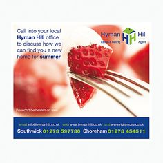 Strawberrys and cream leaflet