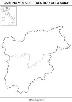 Cartina Geografica Muta Del Trentino Alto Adige.7 Idee Su Italia Geo Geografia Politica Istruzione