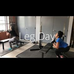 """81 Likes, 1 Comments - Britt ❤️ (@fitwitbritt504) on Instagram: """"Leg day with clients @_deedaaaa & @flygirlstar ... It's Summer time, Thick & Toned is goal!! Great…"""""""