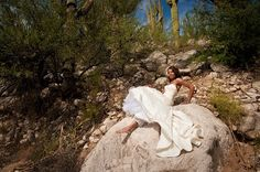 Trash the Dress photo session by Justine Miller