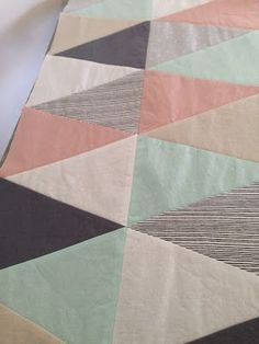 // tips for triangle quilts