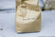 diy coffee roasting - hello there home: recipes