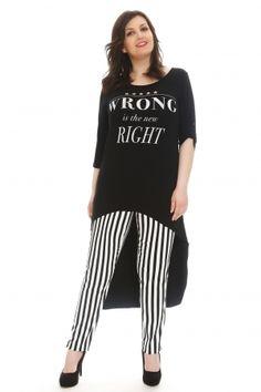 Νέες αφίξεις στα ρούχα μεγάλα μεγέθη - HappySizes Fashion Night, Striped Pants, Night Out, Stripped Pants, Striped Shorts, Stripe Pants