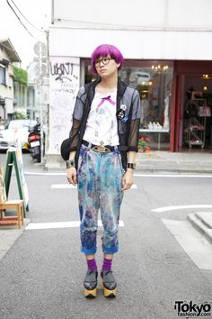 Harajuku street fashion | harajuku guy