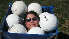 Getting ahead in volleyball. #photos