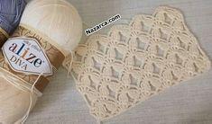 Knitting Blogs, Lace Knitting, Knitted Baby Clothes, Crochet Clothes, Crochet Cardigan, Crochet Scarves, Filet Crochet, Crochet Stitches, Lace Patterns