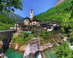Lavertezzo, Val Verzasca, Switzerland | Favorite Places & Spaces | Pi ...