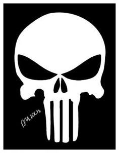 Punisher logo from the fan film dirty laundry the punisher my how to draw the punisher skull publicscrutiny Gallery