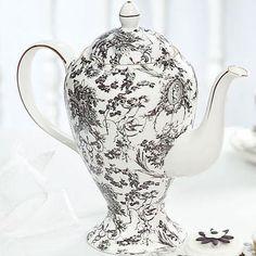 Cherub Toile Teapot