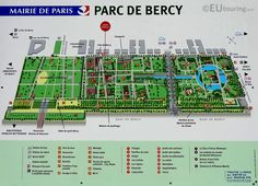 Le Parc de Bercy covers 70 hectares and is divided into three main sections: the Grandes Prairies, the Parterres and the Jardin Romantique. HD photographs of Parc de Bercy in Paris France France Landscape, Pergola Pictures, Urban Park, Paris France, Map Paris, Lily Pond, Photo Look, Water Features, Urban