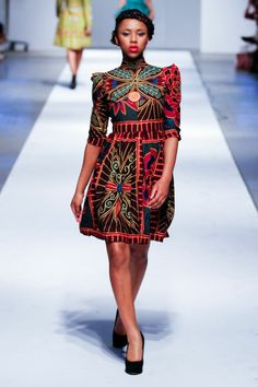african fashion runway | Africa Fashion Week London - Day 3 - ... | Off the Runway Africa