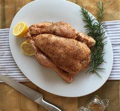 Gebraden kip van Jamie Oliver Jamie Oliver, Combi Oven, French Toast, Good Food, Pork, Lunch, Meat, Chicken, Baking