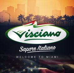 I prodotti VISCIANO - Sapore Italiano sono disponibili a MIAMI - FLORIDA - U.S.A. The products VISCIANO - Taste Italian are available at MIAMI - FLORIDA - U.S.A. Los productos VISCIANO - Sabor italiano disponibles en Miami - Florida - EE.UU