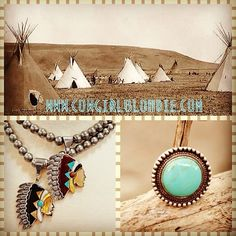 Southwestern Style at Cowgirl Blondie's Dumb Blonde Boutique   Indian Necklace with Black Inlay Shell on Beads http://dumbblondeboutique.com/innewiblinsh.html  Indian Necklace with Red/Turquoise Shell on Beads http://dumbblondeboutique.com/innewireshon.html  Pennington Ring http://dumbblondeboutique.com/penningtonring.html  #southwestern #cowgirl #Indian #cowgirlblondie www.cowgirlblondie.com