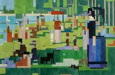 New York artist Adam Lister makes pixelated, acrylic paintings based on iconic images from the art world. Inspired by cubism, minimalism and 8-bit video games, Lister loves to reduce famous paintings to...