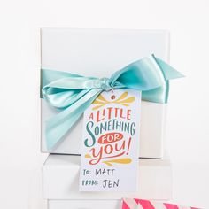 Something For You Gift Tags