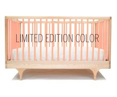 Kalon Studios Caravan Crib is available in a limited edition pink version this summer!  #carouseldesigns #pinparty