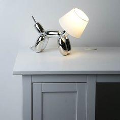 Dog balloon lamp…oh so cute
