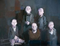 Jean Rustin, 5 personnages