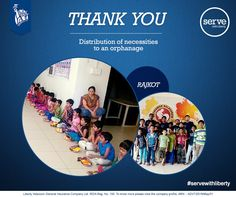 We thank you all for taking time out for the noble cause. The needy should be served and appreciated. #servewithliberty