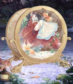 Goldfish anime - goldfish anime - poisson rouge anime - anime de peces de colores G Goldfish Types, Goldfish Tank, Goldfish Aquarium, Goldfish Bowl, Oranda Goldfish, Goldfish Tattoo, Girl Power Tattoo, Character Art, Character Design