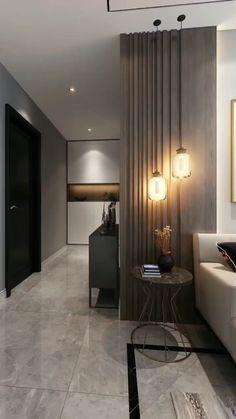 Hotel Bedroom Decor, Hotel Bedroom Design, Interior Design Living Room, Living Room Designs, Hall Room Design, Home Stairs Design, Modern Apartment Design, Small Apartment Interior, Modern Hotel Room