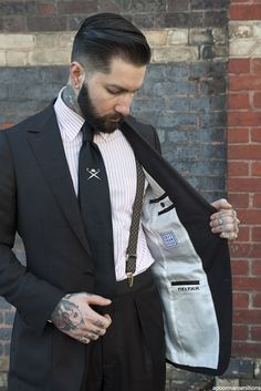 Tattoo Lust: Beards & Tattoos V | Fonda LaShay // Design → more on fondalashay.com/blog