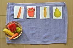 Five great Montessori inspired activities about FOOD!