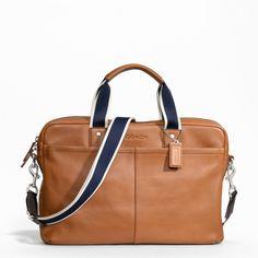 Briefcases - Bags - MEN - Coach Factory Official Site
