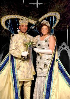 Mardi Gras - Not sure what's all going on here, but it is cool looking.  Jonathon Buchanan & Melissa D'Angelo