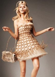 Carmen Kass in Chanel | Elle Russia February 2010