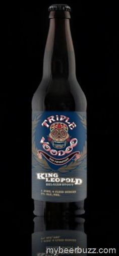 Triple Voodoo Brewing King Leopold Belgian Stout Available Now