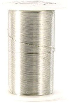 28 gauge wire 35 yards/pkg-silver
