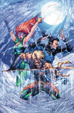 Aquaman by Brett Booth * - Visit to grab an amazing super hero shirt now on sale! Marvel Vs, Marvel Comics, Cosmic Comics, Aquaman Dc Comics, Arte Dc Comics, Comic Book Artists, Comic Books Art, Comic Art, Atlantis