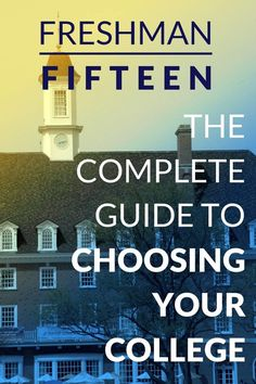 You shouldn't just choose a college - you should choose YOUR college.