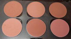 MAC Blush: Harmony, Buff, Prism, Tenderling, Blushbaby, Pinch O' Peach ~ Look Inside My Closet