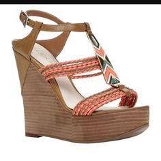 4d76ca11bfaf Aldo Aztec Wedges Wedge Shoes